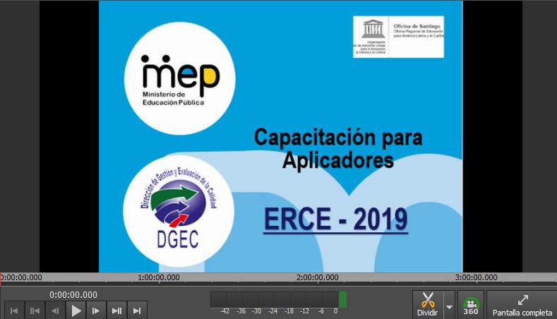 Diapositiva con título de la videoconferencia